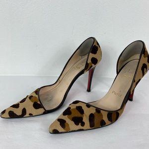 Christian Louboutin Leopard heels